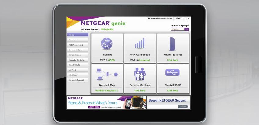 téléchargement de l'installation netgear wpn824n