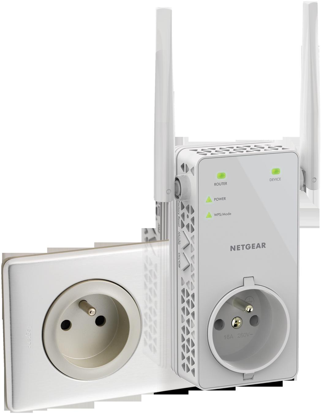 Ex6130 r p teurs wifi r seau produits grand public - Augmenter portee votre wifi avec repeteur ...