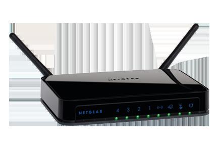 Netgear wndr3400 router