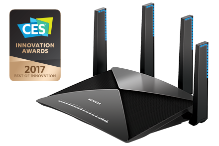 Routeur Wifi intelligent Nighthawk<sup>®</sup> X10