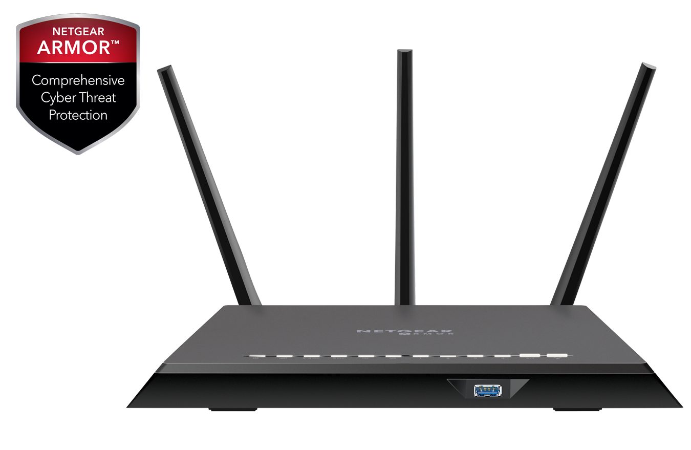Nighthawk<sup>®</sup> Cybersecurity WiFi Router
