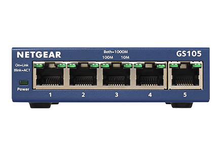 Switch Gigabit Non Manageable Gs105 Switches Non