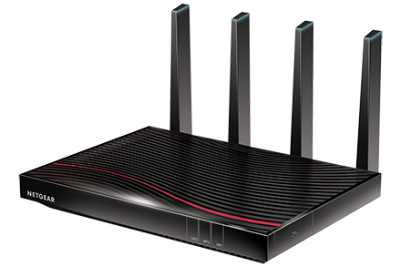 Nighthawk X4S DOCSIS<sup><sup>®</sup></sup> 3.1 Ultra-High Speed Cable Modem Router
