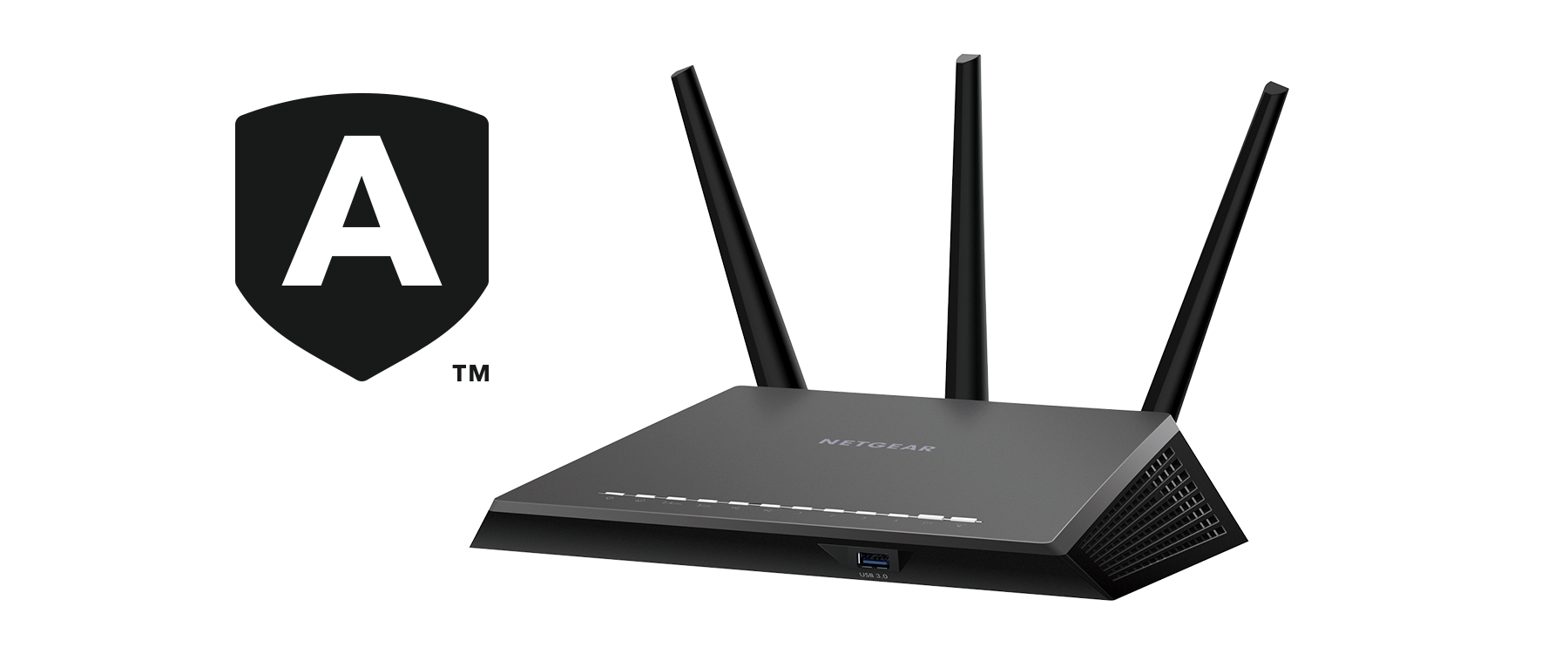 Nighthawk Smart WiFi Router with Netgear Armor