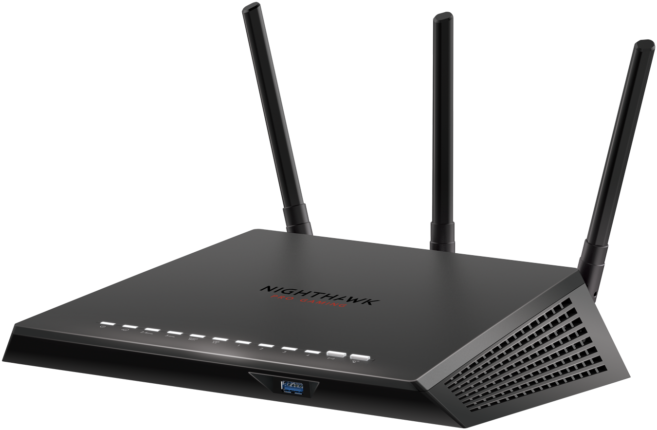 AC2600 Nighthawk<sup><sup>®</sup></sup> Pro Gaming WiFi Router